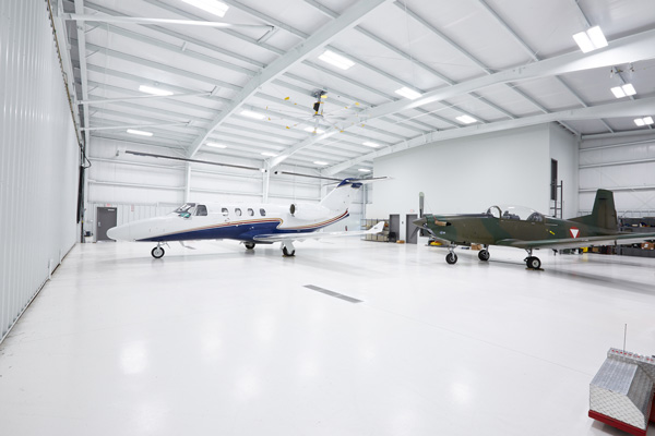 Private Airplane Hanger